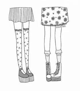 Что нарисовать когда нет фантазии для девочек 13 лет - рисунки (26)
