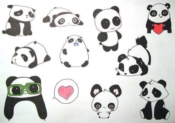 Что нарисовать когда нет фантазии для девочек 13 лет - рисунки (8)
