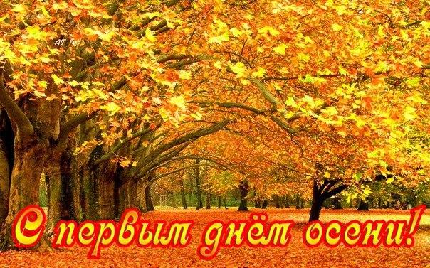 открытки поздравления с первым днем осени (22)