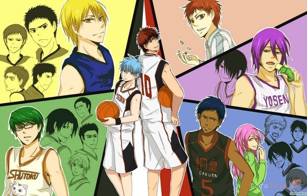 Аниме Баскетбол Куроко - лучшие картинки (24)
