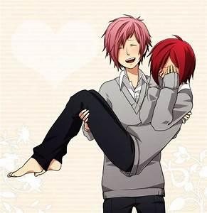 Аниме персонажи с короткими красными волосами - картинки (17)