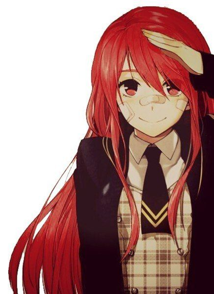 Аниме персонажи с короткими красными волосами - картинки (6)
