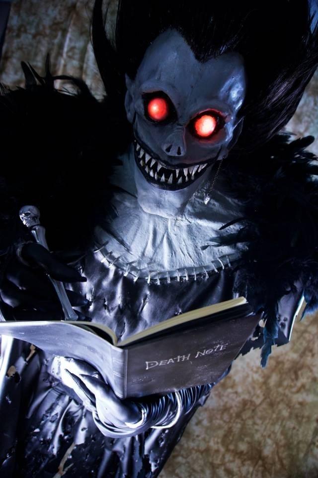 Аниме тетрадь смерти картинки Рюка013