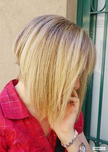 Блондинки с короткими волосами на аву со спины014