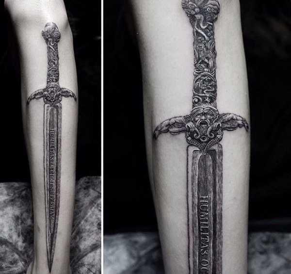 Ведьмак 3 татуировки в отличном качестве (11)