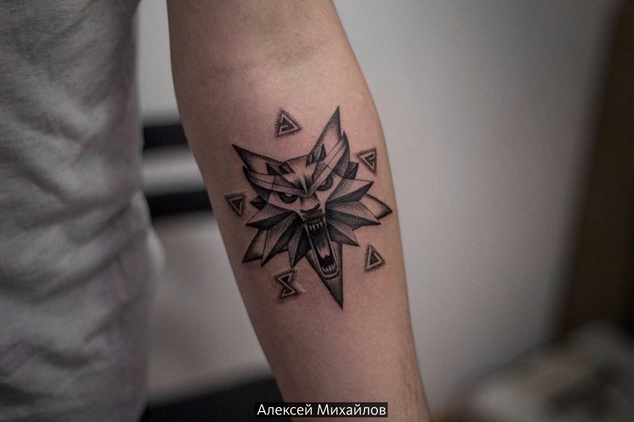 Ведьмак 3 татуировки в отличном качестве (15)