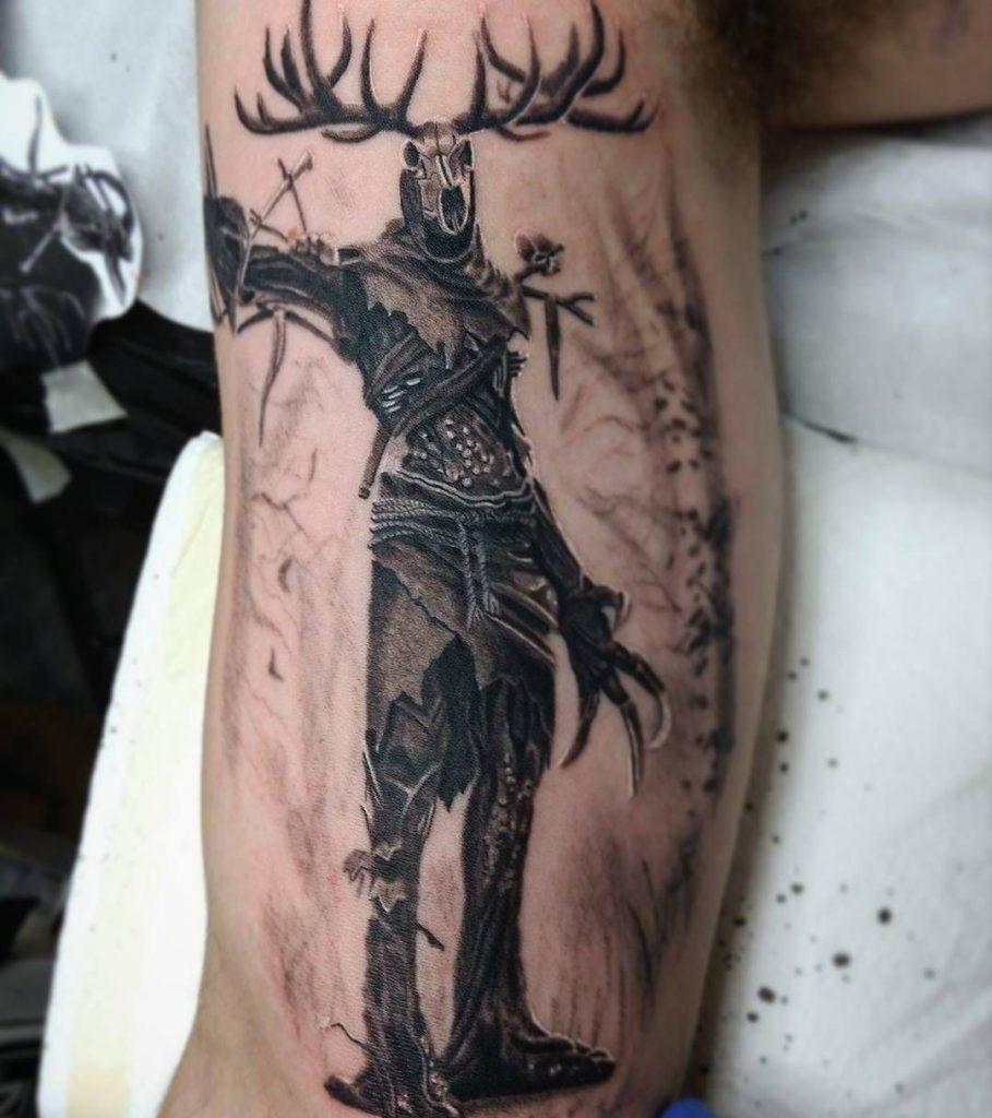 Ведьмак 3 татуировки в отличном качестве (16)