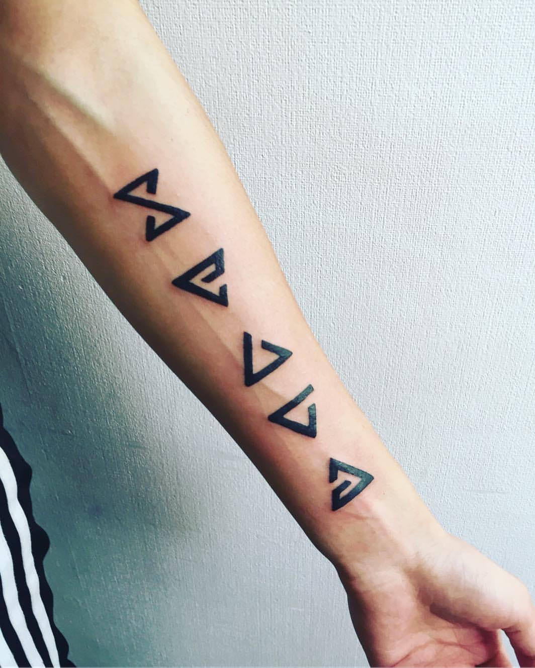 Ведьмак 3 татуировки в отличном качестве (17)