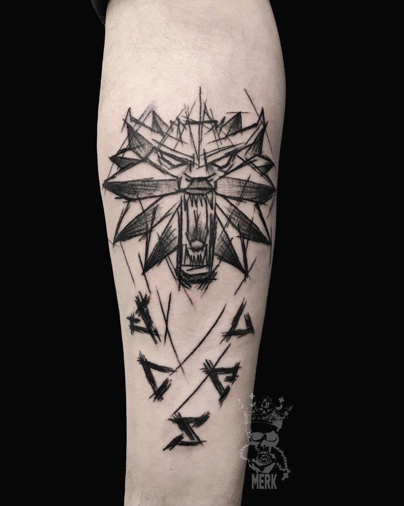 Ведьмак 3 татуировки в отличном качестве (18)