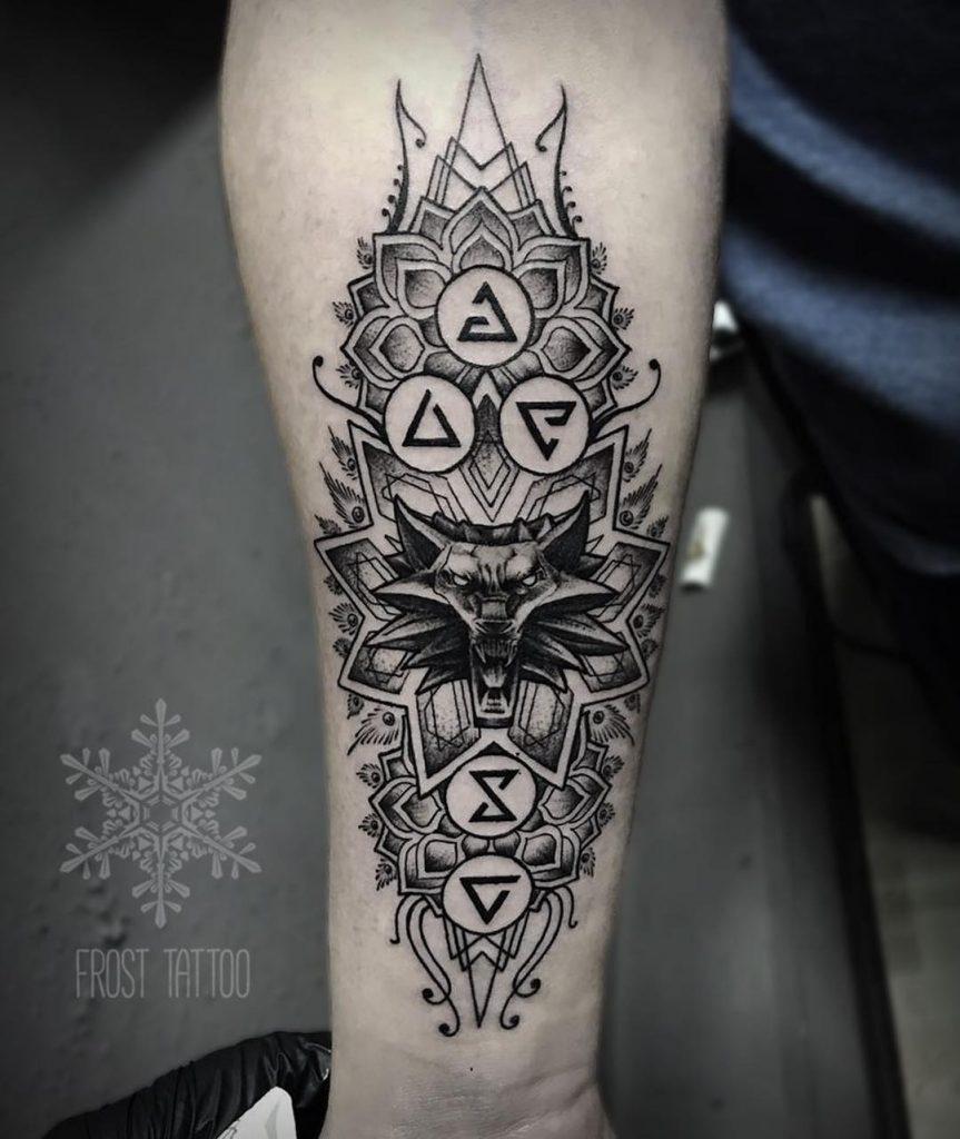 Ведьмак 3 татуировки в отличном качестве (19)