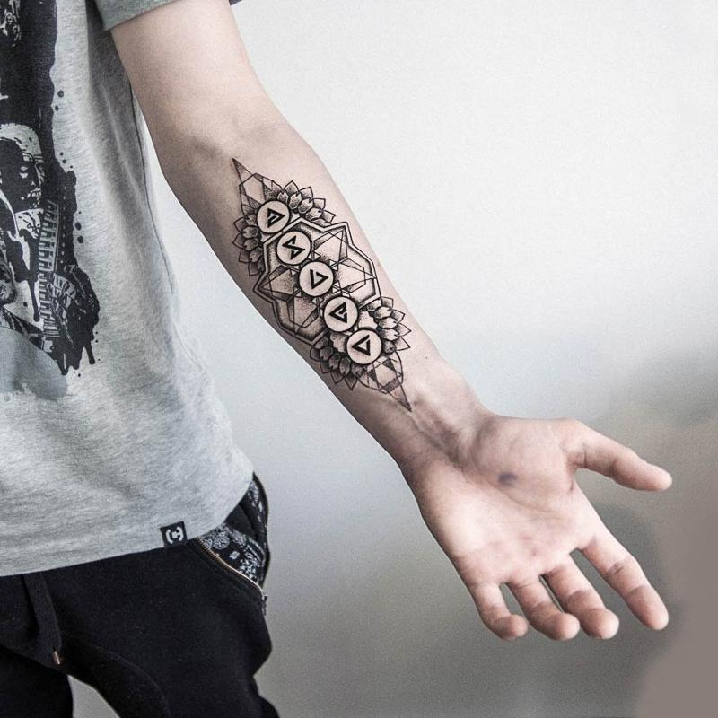 Ведьмак 3 татуировки в отличном качестве (2)