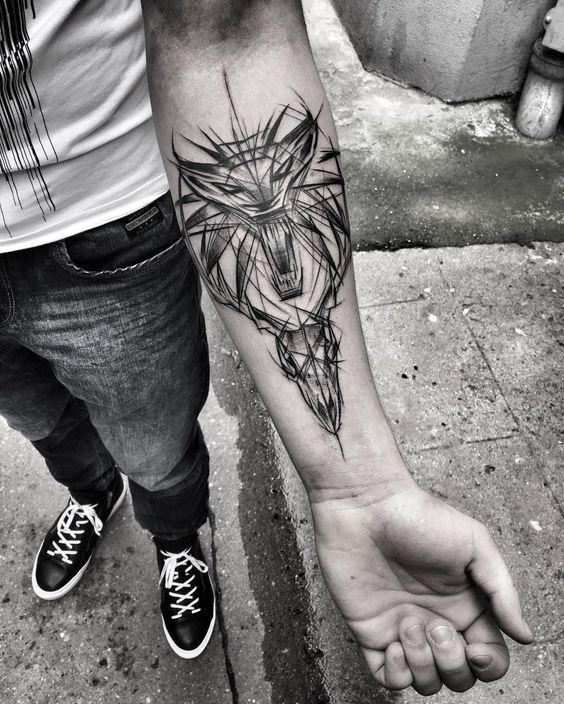 Ведьмак 3 татуировки в отличном качестве (22)