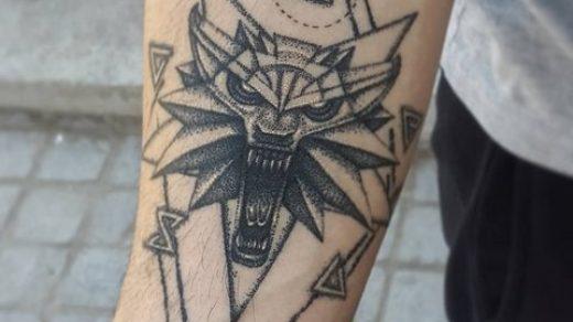 Ведьмак 3 татуировки в отличном качестве (6)