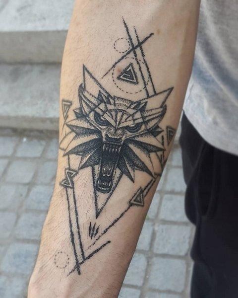 Ведьмак 3 татуировки в отличном качестве (7)