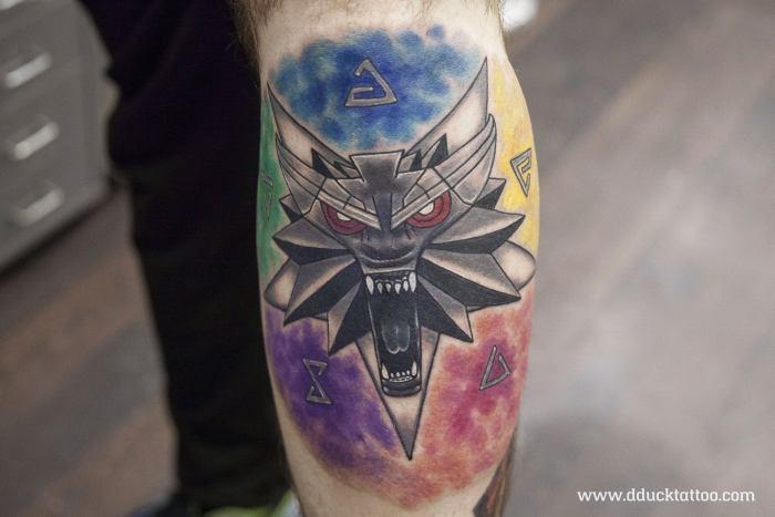 Ведьмак 3 татуировки в отличном качестве (8)