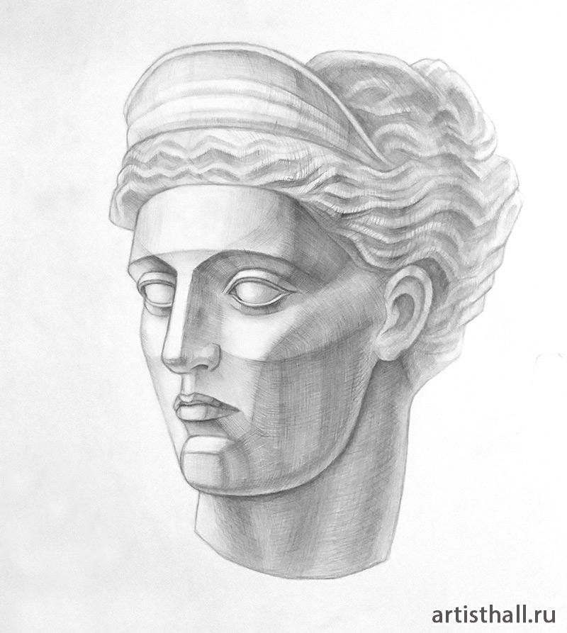 Венера Милосская рисунок - подборка (10)