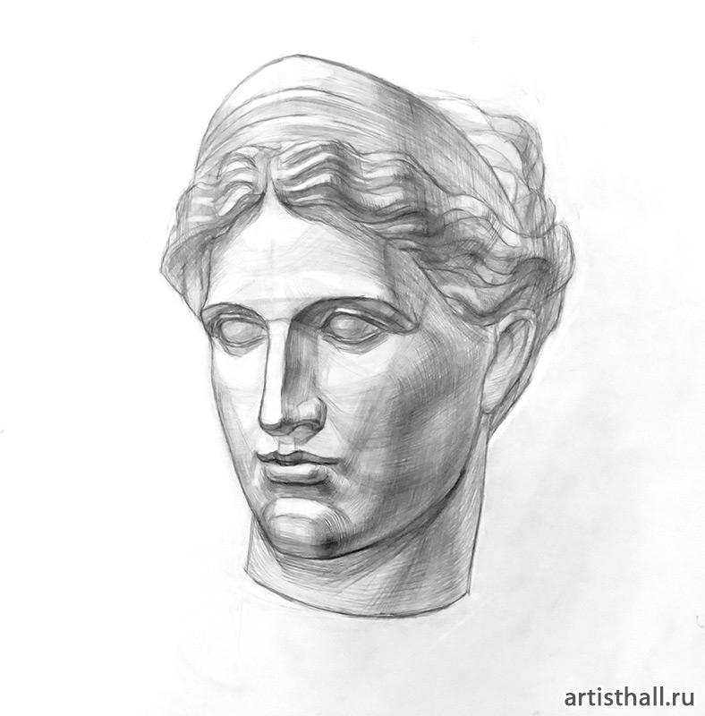 Венера Милосская рисунок - подборка (11)