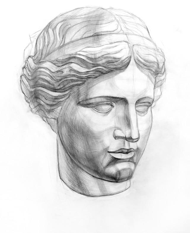 Венера Милосская рисунок - подборка (12)