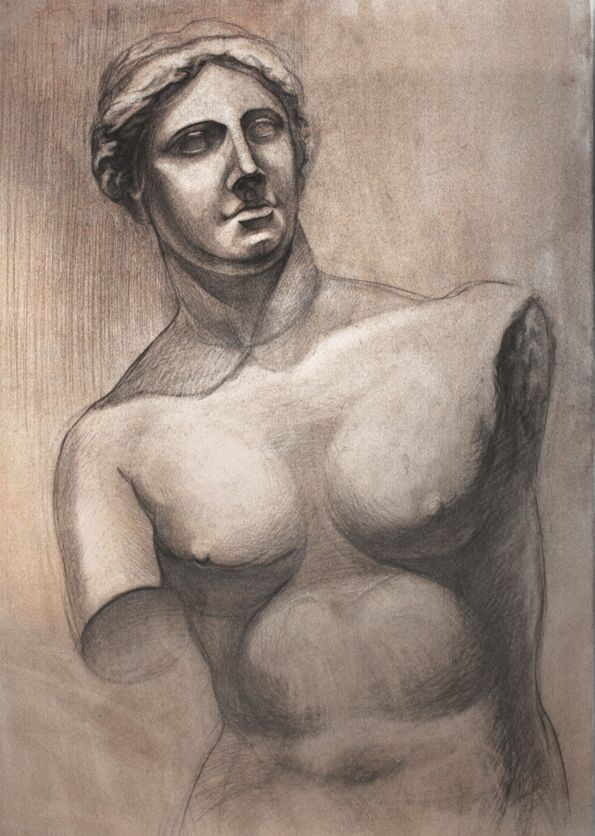 Венера Милосская рисунок - подборка (14)