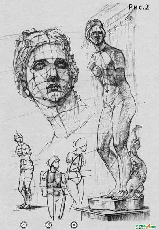 Венера Милосская рисунок - подборка (15)