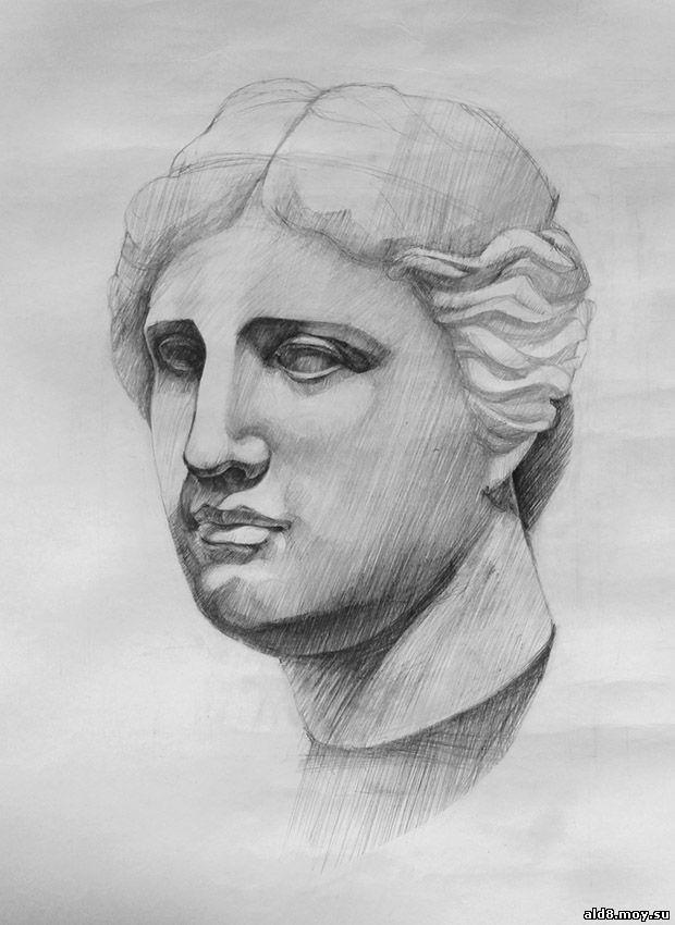 Венера Милосская рисунок - подборка (16)