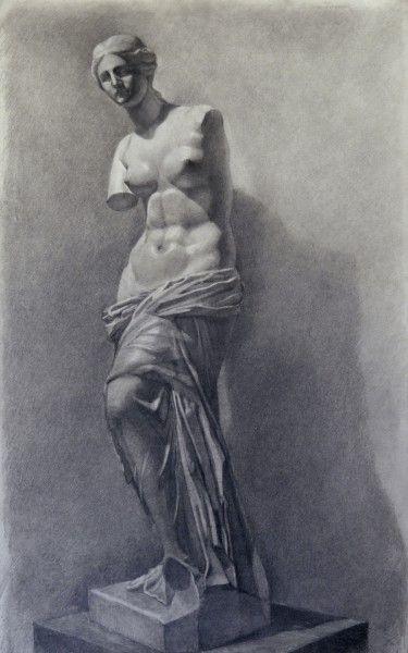 Венера Милосская рисунок - подборка (5)