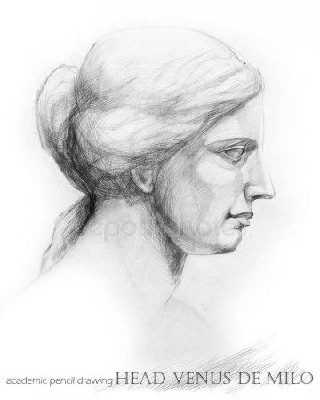 Венера Милосская рисунок - подборка (9)
