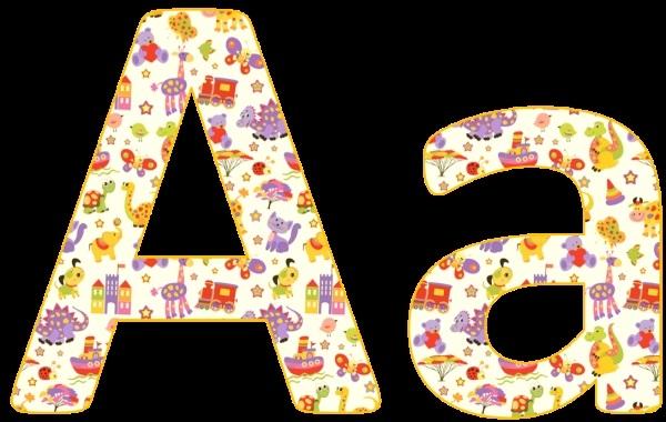 Веселая буква картинки для детей и малышей010