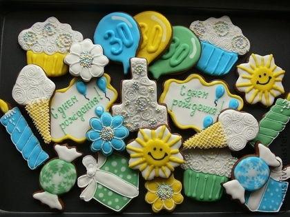 Вкусные пряники на день рождения подруге004
