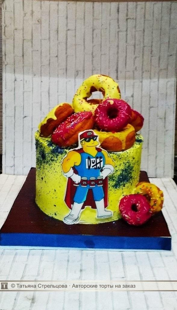 Вкусные торты Барта Симпсона002