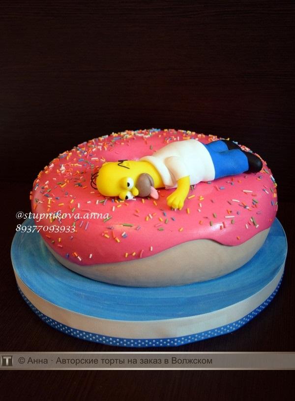 Вкусные торты Барта Симпсона003
