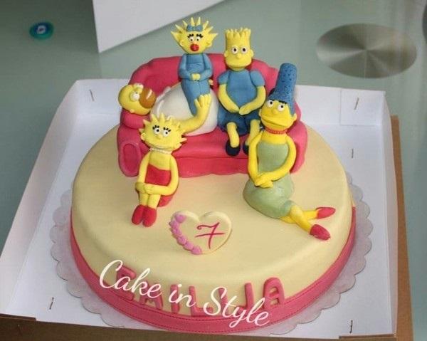 Вкусные торты Барта Симпсона004