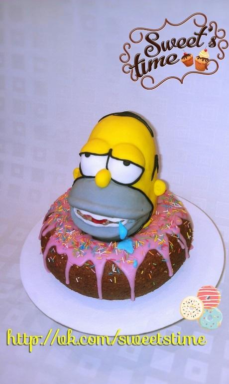 Вкусные торты Барта Симпсона006