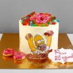 Вкусные торты Барта Симпсона