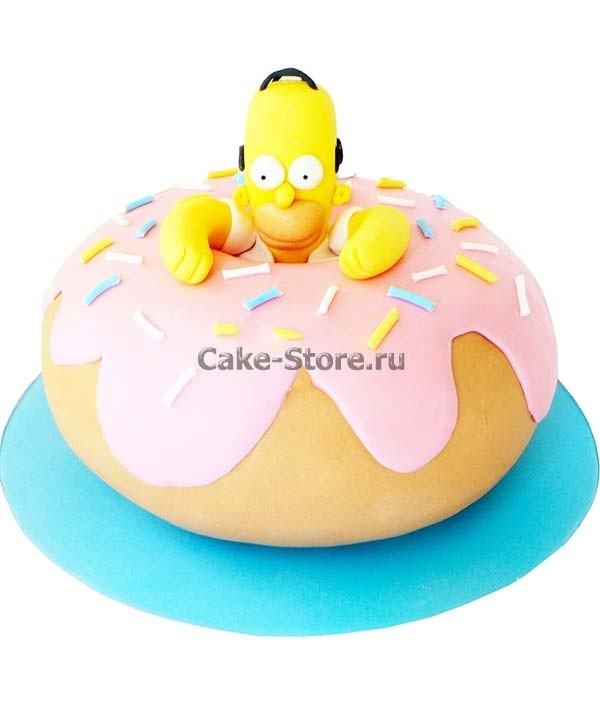 Вкусные торты Барта Симпсона008
