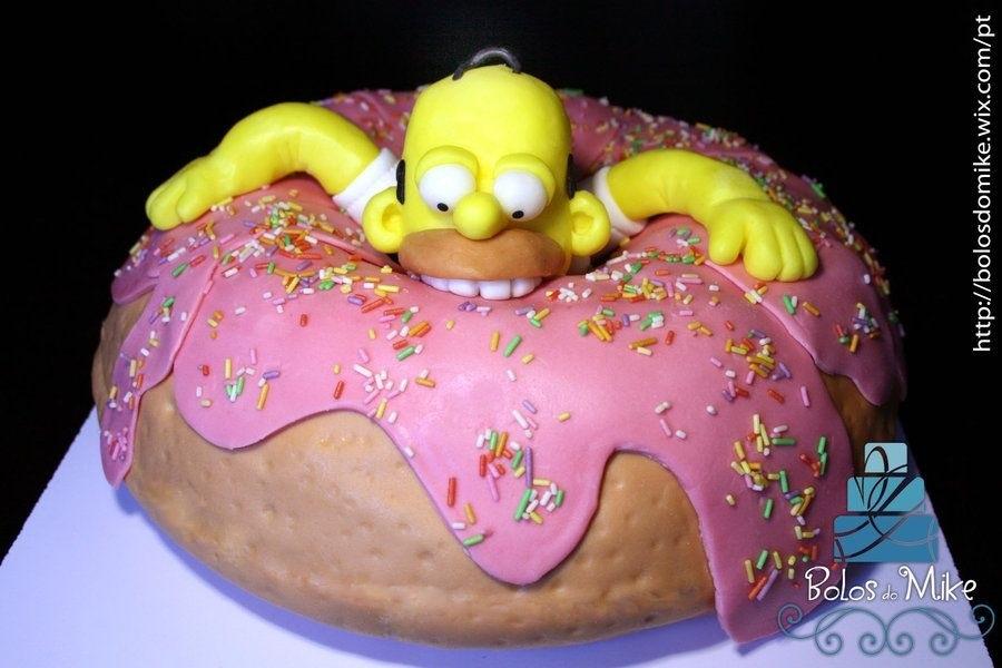 Вкусные торты Барта Симпсона012