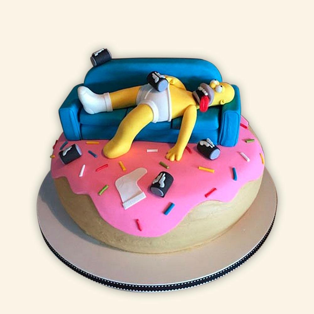 Вкусные торты Барта Симпсона017