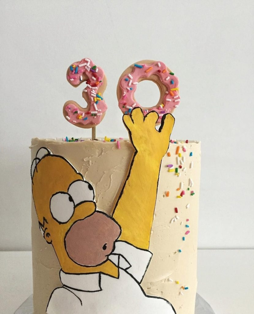 Вкусные торты Барта Симпсона019