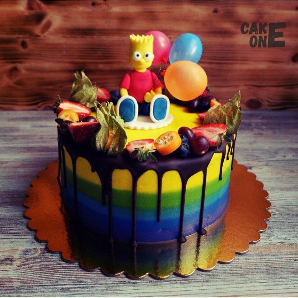 Вкусные торты Барта Симпсона020
