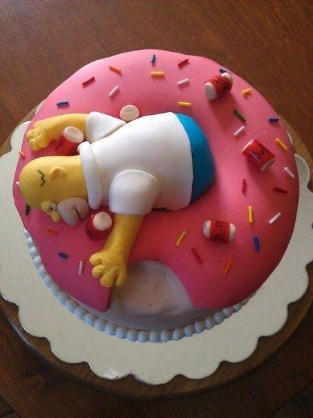Вкусные торты Барта Симпсона021