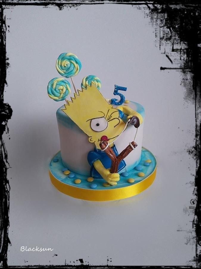 Вкусные торты Барта Симпсона022