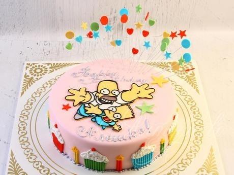 Вкусные торты Барта Симпсона023