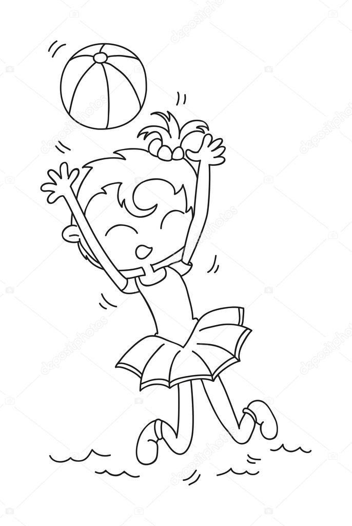 Волейбол нарисованные картинки001