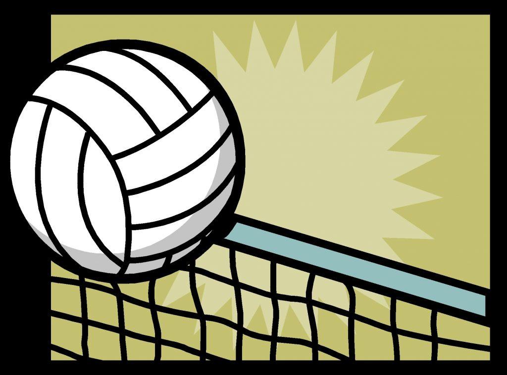 Волейбол нарисованные картинки005