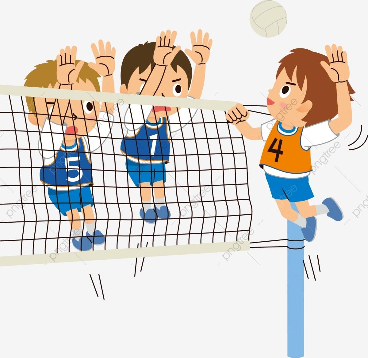 Волейбол нарисованные картинки010