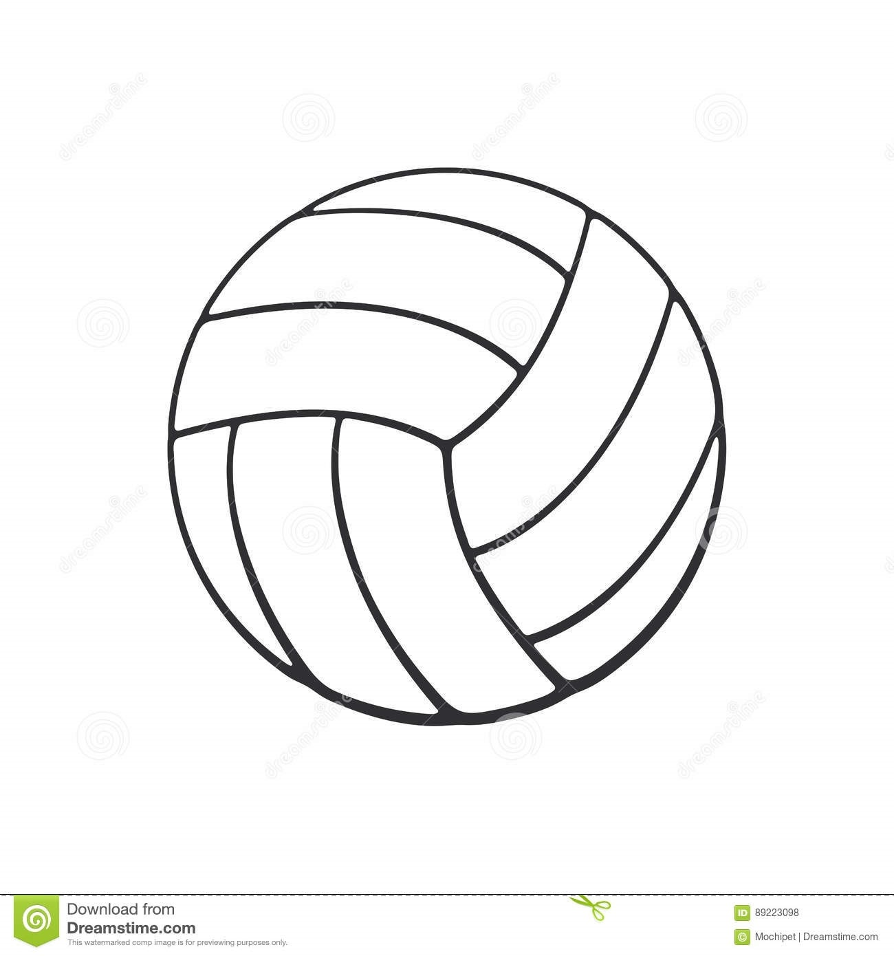 Волейбол нарисованные картинки023
