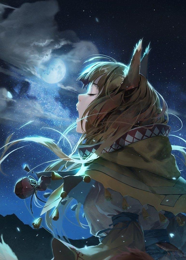 Волчица девушка арт003