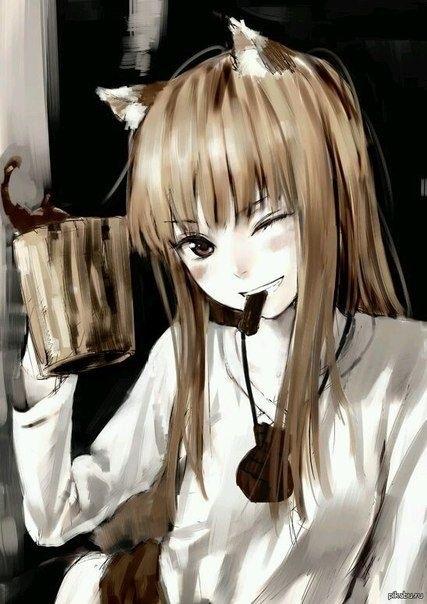 Волчица девушка арт018