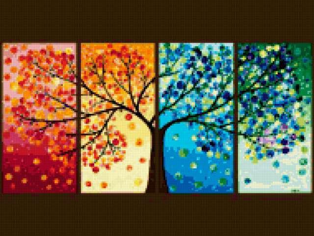 Времена года зима весна лето осень (4)