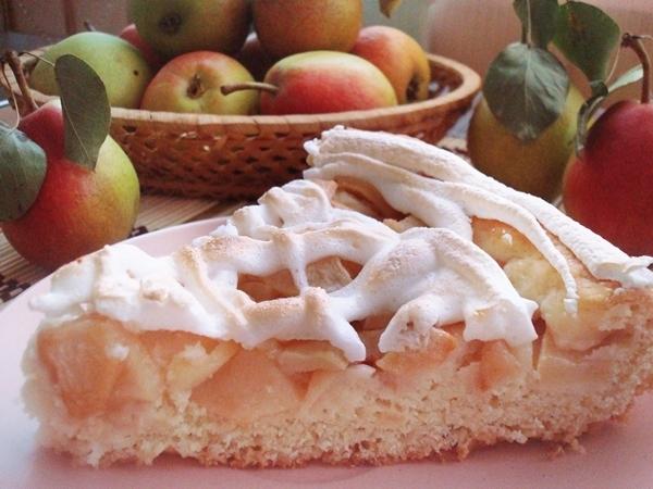 Грушевый пирог с крамблом - аппетитные фото (12)